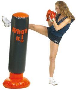 Fau beim Kickboxen